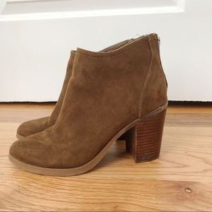STEVEN MADDEN Booties - Brown - Size 8